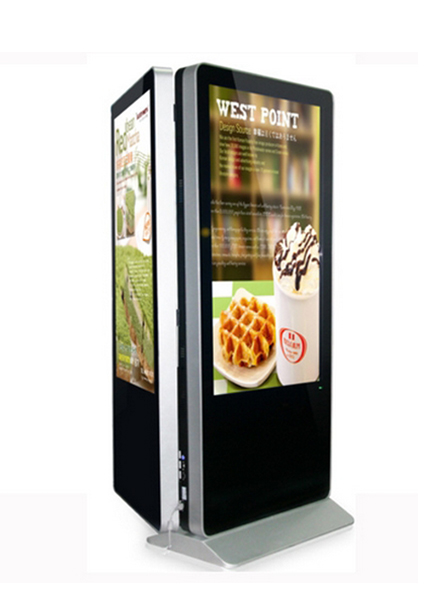 Dual Slid Kiosk - Customization - Indoor Digital signage