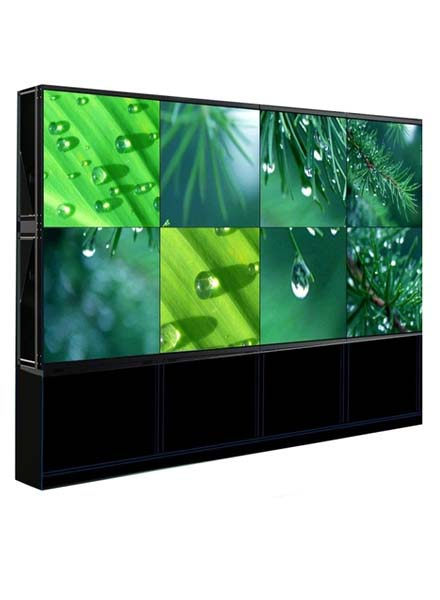 Video wall cabinet